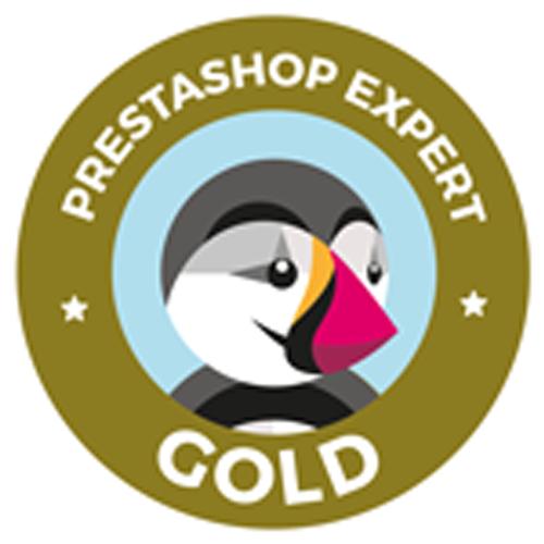 Prestashop Gold Partner